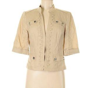 WHBM Linen blazer